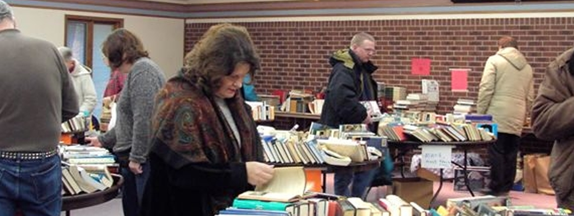 Johnston Lions Annual Book Sale